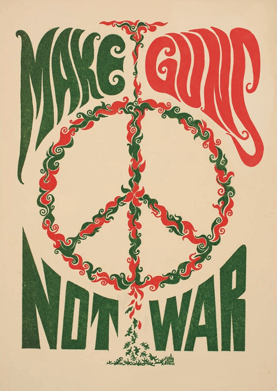 make guns not war