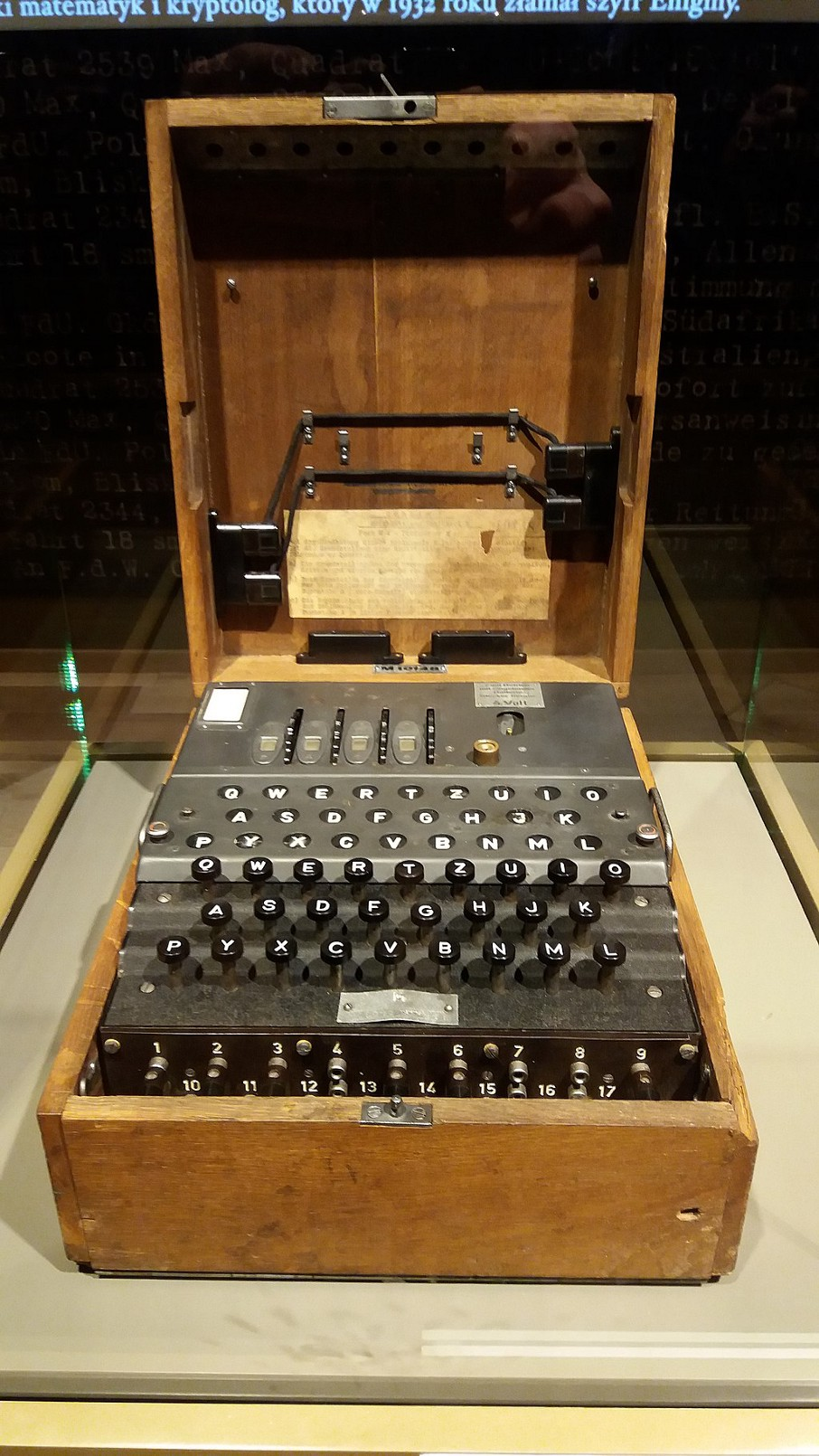End of an era: the Enigma machine