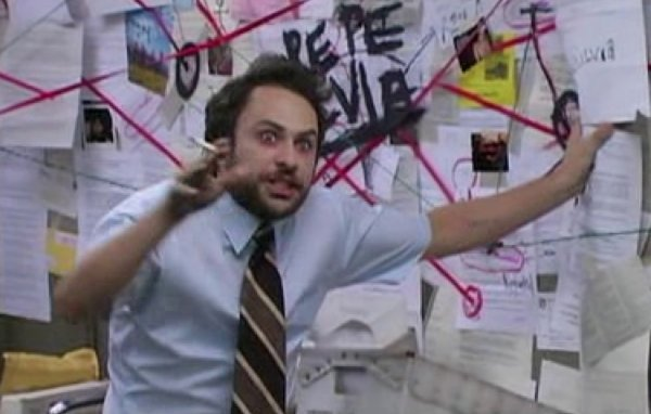 charlie day and conspiracy theory