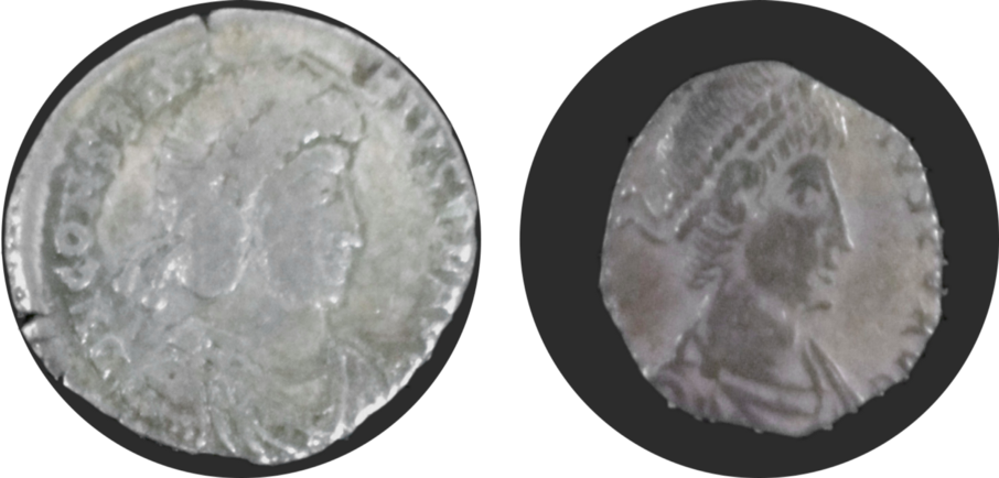 Coins that were clipped